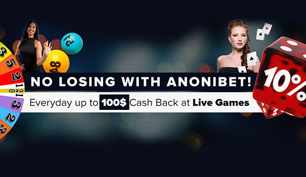 NO LOSING WITH ANONIBET!